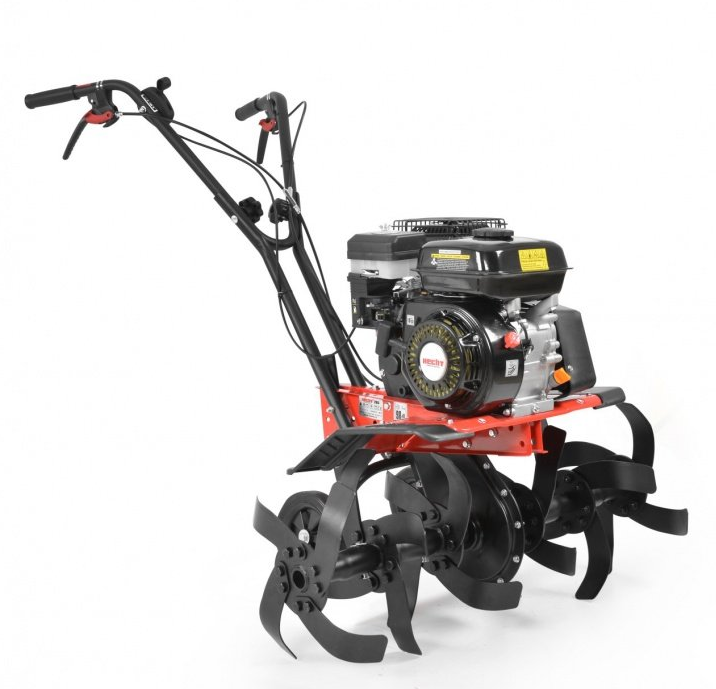 Hecht Bensindriven Jordfräs med Kraftig 4-takts Motor