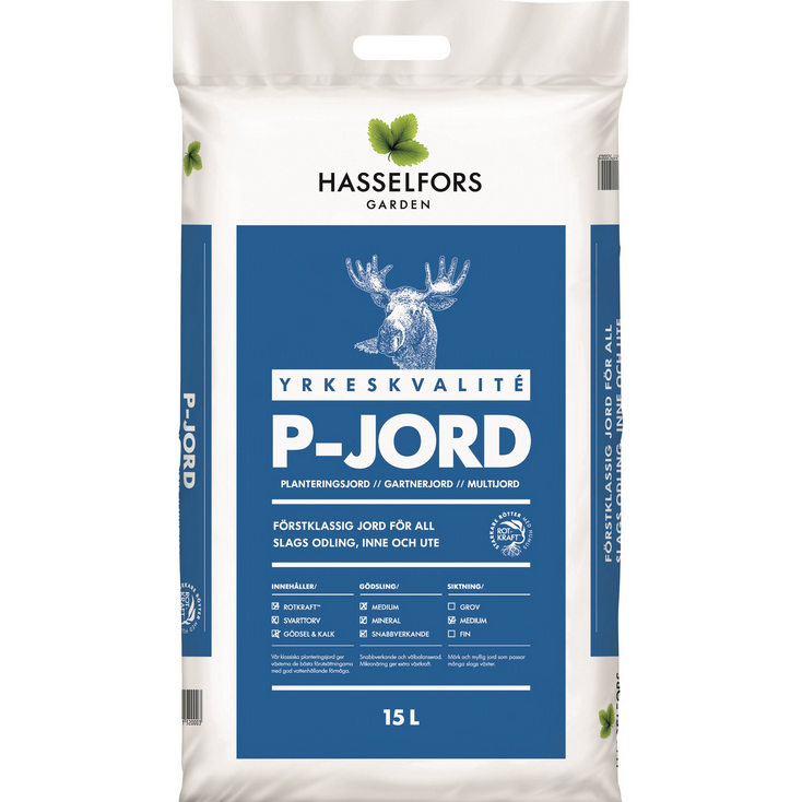 P-Jord Hasselfors, 15 l