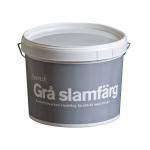 Svensk Slamfärg Grå Fasadfärg